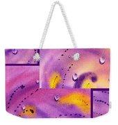 Water On Color Collage Five Weekender Tote Bag
