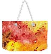 Water On Color Design Nine Weekender Tote Bag