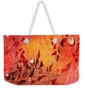 Water On Color Design Seven Weekender Tote Bag
