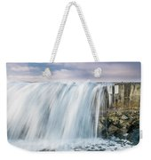 Water Over The Jetty Weekender Tote Bag