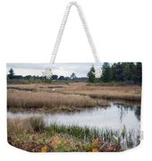 Water Path Weekender Tote Bag