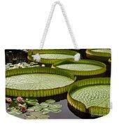 Water Platter Charm Weekender Tote Bag