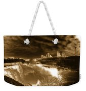 The Mighty Power Of The Falls Weekender Tote Bag