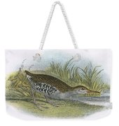 Water Rail Weekender Tote Bag
