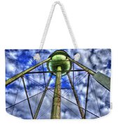Mary Leila Cotton Mill Water Tower Art  Weekender Tote Bag
