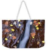Water Ribbon Weekender Tote Bag