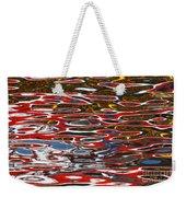 Water Ripple Patterns 3 Weekender Tote Bag