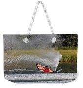 Water Skiing 10 Weekender Tote Bag