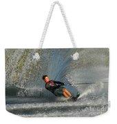 Water Skiing Magic Of Water 13 Weekender Tote Bag by Bob Christopher