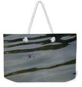 Water Skipper In Digital Oil Pastel Weekender Tote Bag