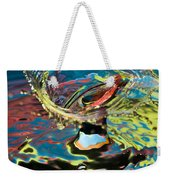 Water Splash Exploding Weekender Tote Bag
