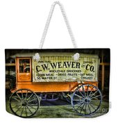 Water St. -  Chicago - The Salesman  Weekender Tote Bag by Paul Ward