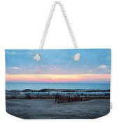 Water Sunset Weekender Tote Bag