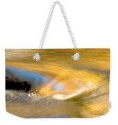 Water Swirl Weekender Tote Bag