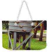 Water Tank Landscape Weekender Tote Bag