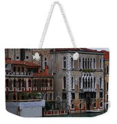 Water Taxi In Venice Weekender Tote Bag
