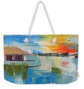 Water Taxi Weekender Tote Bag