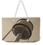 Water Tower In Deer Lodge Montana Weekender Tote Bag