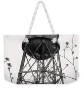 Water Tower Weekender Tote Bag by Michael Grubb