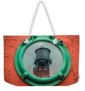 Water Tower Reflection Weekender Tote Bag