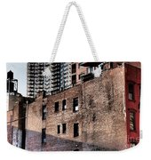 Water Tower With Cityscape Weekender Tote Bag