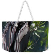 Water Turkey Weekender Tote Bag