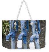 Water Water Water In Blue Weekender Tote Bag
