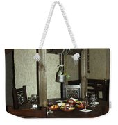 Water Well Table Weekender Tote Bag