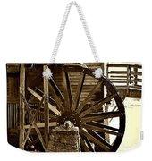 Water Wheel At The Grist Mill Weekender Tote Bag