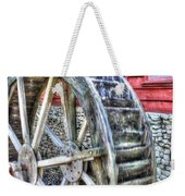 Water Wheel On Mill Weekender Tote Bag