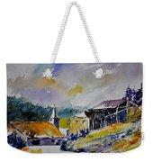 Watercolor Baillamont Weekender Tote Bag