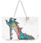 Watercolor Fashion Illustration Art Weekender Tote Bag