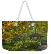 Watercolor Gardens Weekender Tote Bag
