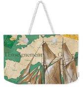 Watercolor Map 1 Weekender Tote Bag