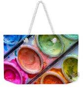 Watercolor Ovals One Weekender Tote Bag