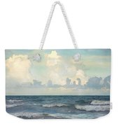 Watercolor Photograph Of Atlantic Ocean Weekender Tote Bag