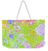 Bouquet Of Flowers Watercolor Photography Weekender Tote Bag
