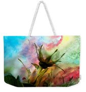 Watercolor Roses Weekender Tote Bag