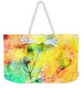 Watercolor Wildflowers - Digital Paint Weekender Tote Bag