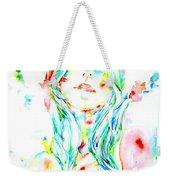 Watercolor Woman.1 Weekender Tote Bag