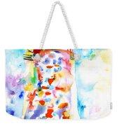 Watercolor Woman.18 Weekender Tote Bag