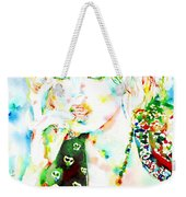 Watercolor Woman.3 Weekender Tote Bag
