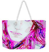 Watercolor Woman.33 Weekender Tote Bag