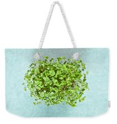 Watercress Weekender Tote Bag