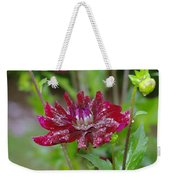 Waterdrops On Petals  Weekender Tote Bag