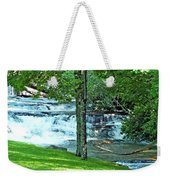 Waterfall And Hammock In Summer 2 Weekender Tote Bag