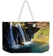 Waterfall And Rainbow 4 Weekender Tote Bag