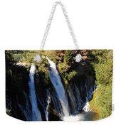 Waterfall And Rainbow Weekender Tote Bag