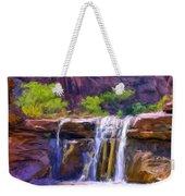 Waterfall At Coyote Creek Weekender Tote Bag