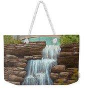 Waterfall At East Hampton Weekender Tote Bag